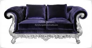Sofa Mewah Dua Dudukan