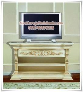 Bufet TV Ukir Antik