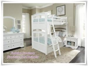 Tempat Tidur Anak Tingkat Twint