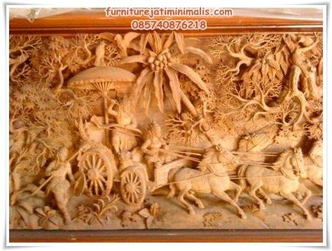 ukiran jepara,Relief Ukiran Jepara Punya Nilai Seni Sejagad,relief jepara,furniture jepara,mebel jepara,furniture jati minimalis
