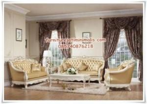 Set Sofa Tamu Mewah Clever