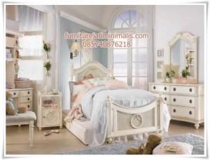 Tempat Tidur Anak Minimalis Shabby