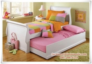 Tempat Tidur Anak Laci