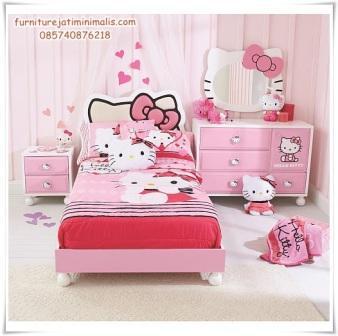 kamar anak hello kitty kamar tidur anak hello kitty murah