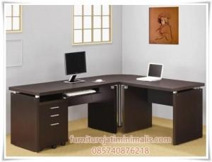 Meja Kantor Double