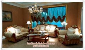 Set Sofa Tamu Mewah Sicily