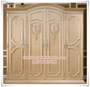 Lemari Pakaian 4 Pintu Cassabella