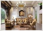 Sofa Tamu Ukir Mewah Klasik