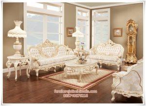 Sofa Ruang Tamu Victorian Mewah