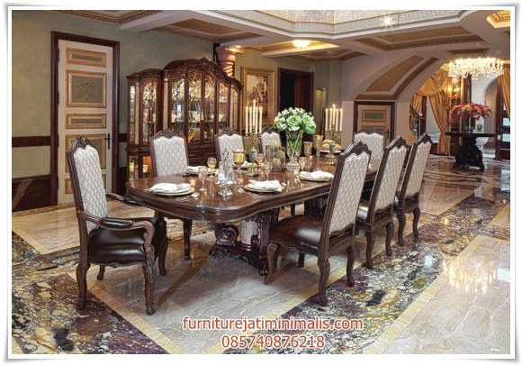 set meja makan mewah palace, set meja makan, meja makan, meja makan mewah, set meja makan jati, set meja makan murah, set meja makan kayu jati, set meja makan modern, set meja makan kayu jati