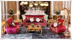 Set Sofa Tamu Model Istana Rose