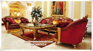 Sofa Tamu Mewah Italian Custom