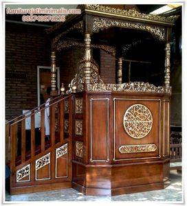 Mimbar Masjid Kubah Jepara