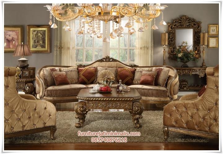 Sofa tamu mewah model klasik sofa tamu sofa tamu mewah for Sofa klasik