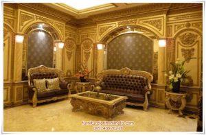 Set Sofa Ruang Tamu Ukiran Modern