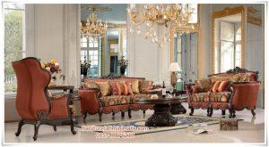 Set Sofa Tamu Mewah Eropa Provincial