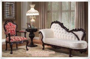 Sofa Santai Jati Victorian