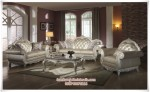 Sofa Ruang Tamu Mewah Leather
