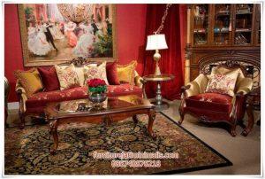 Sofa Tamu Jati Antik Aico