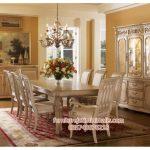 set meja makan klasik amazing,