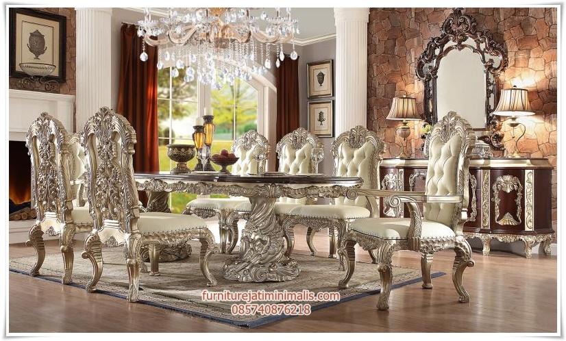 set kursi makan putih duco, meja makan mahoni, meja makan duco mahoni, set kursi makan duco, set kursi makan ukir duco, set kursi makan warna putih, model meja makan terbaru, set kursi makan, set kursi makan mewah, kursi makan warna putih, set kursi makan duco mewah, kursi makan