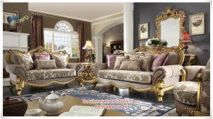 Sofa Ruang Tamu Klasik Super Mewah