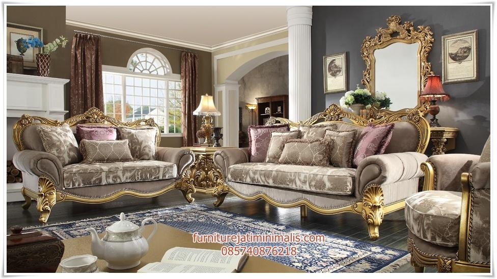 Sofa ruang tamu klasik super mewah sofa tamu klasik sofa for Sofa klasik