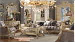 Kursi Sofa Mewah Warna Putih