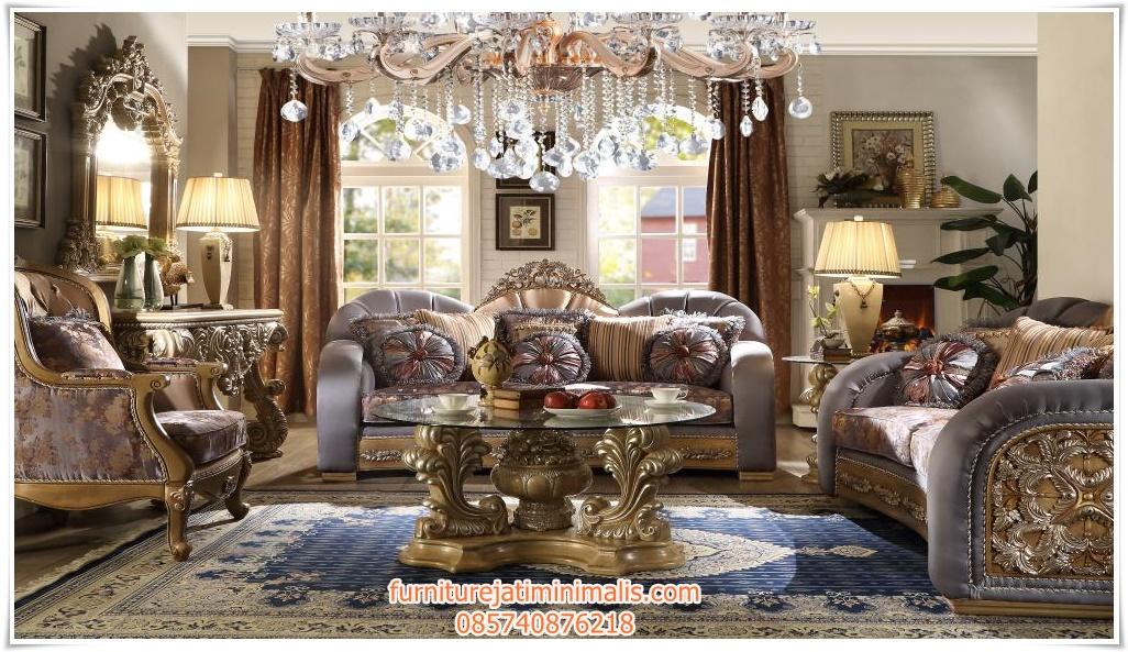Sofa ruang tamu klasik terbaru sofa ruang tamu klasik for Sofa klasik