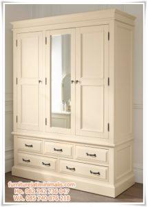 Lemari Pakaian Minimalis Dresser Klasik