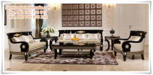 Sofa Ruang Tamu Mewah Scarlet