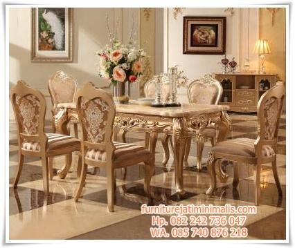 kursi makan mewah warna emas, kursi makan jati mewah, kursi makan mewah klasik, kursi meja makan mewah, set kursi makan mewah, kursi makan ukiran mewah, kursi makan ukir mewah, gambar kursi makan mewah, meja makan jepara terbaru, meja makan mewah modern