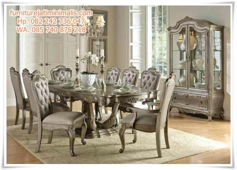 kursi meja makan klasik drasso, kursi meja makan cantik, kursi meja makan dari kayu, meja kursi makan di surabaya, meja kursi makan dari kayu jati, meja kursi makan di semarang, kursi dan meja makan, kursi meja makan murah di bandung, gambar meja kursi makan dari kayu