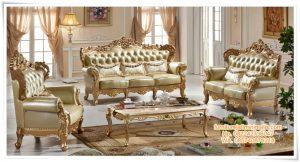 Sofa Ruang Tamu Mewah Antiek
