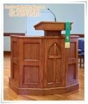Mimbar Gereja Pulpit