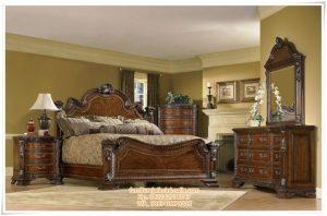 Set Kamar Tidur Klasik Eropa