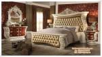 Set Tempat Tidur Ukir Modern