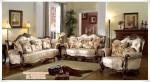 Sofa Ruang Tamu Jati Mewah Natural