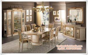 Set Kursi Makan Glass Leonardo
