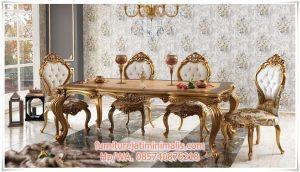 Kursi Meja Makan Mewah Royal