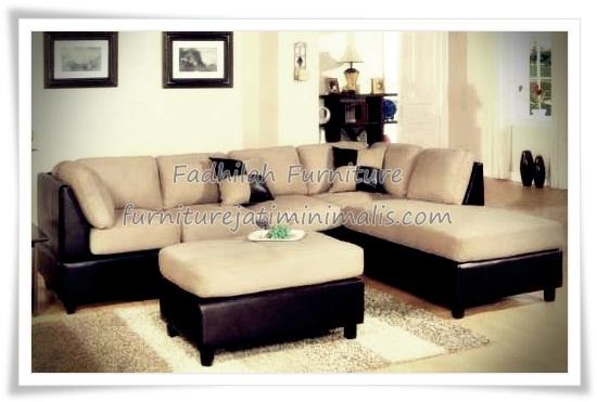 Set Sofa Minimalis Mewah Murah Kayu Jati