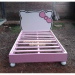 Dipan Anak Hello Kitty, dipan anak, tempat tidur anak, kamar tidur anak, tempat tidur anak hello kitty, furniture anak, kamar anak hello kitty, furniture anak hello kitty
