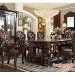 kursi makan ukiran klasik, kursi makan ukir jati, kursi makan jati, ukiran ukir jepara, harga meja makan ukir jepara, meja makan ukiran, set meja 4 kursi makan, harga kursi makan jati ukir jepara