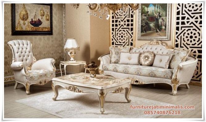 Set Sofa Ruang Tamu Mewah Feste