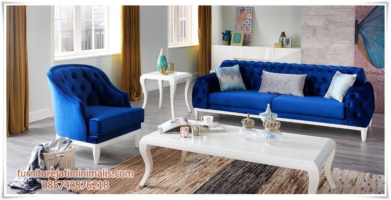 Sofa Ruang Tamu Mewah Soloiki Model