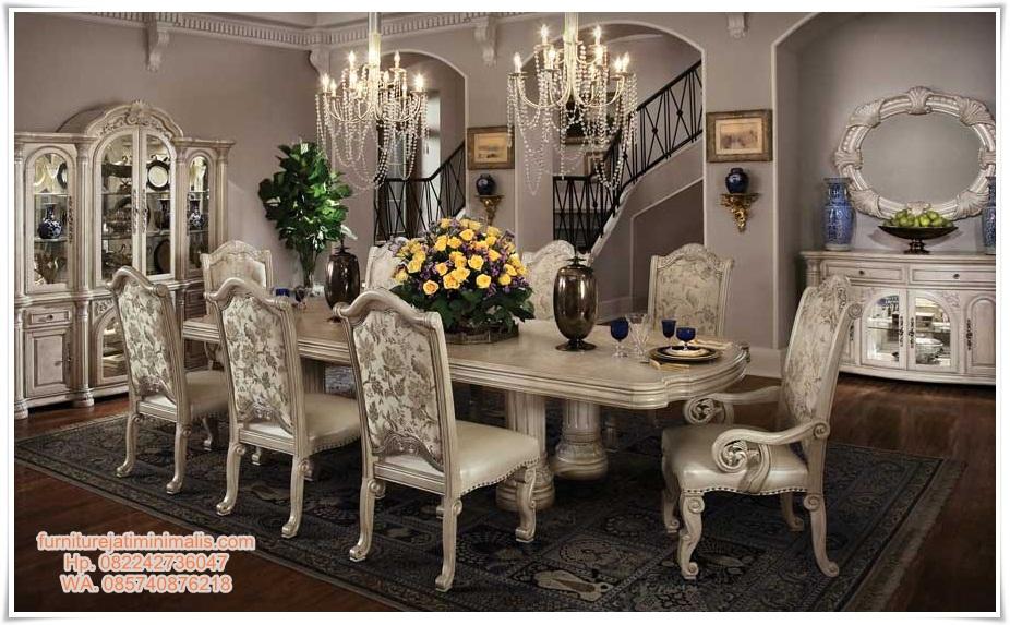 set kursi makan mewah ukir duco, set kursi makan mewah, set kursi makan ukir, kursi makan, set kursi makan furniture jepara, set kursi makan elegan, ukuran meja makan 6 kursi, kursi meja makan, meja makan, harga kursi makan, jual kursi makan